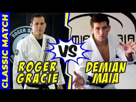 Demian Maia vs Roger Gracie Jiu Jitsu Match Brasilian Team Nationals 2002