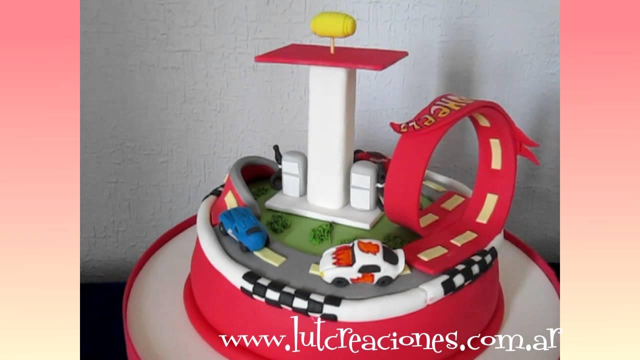 Torta Decorada Hot Wheels Lut Creaciones Tortas Decoradas