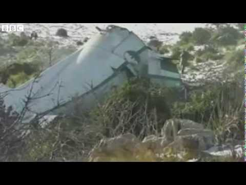 Algeria plane crash, 77 Killed, 1 survives, rare Footage
