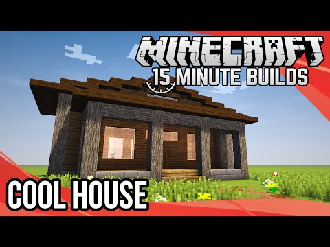 Minecraft 15-Minute Builds: Cool House