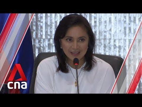 Philippines' Duterte slams vice-president Leni Robredo for discussing drug war with 'outsiders'