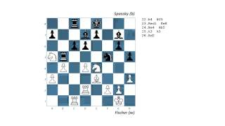 #39 1992 Fischer vs Spassky   Belgrade round 13