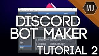 Discord Bot Maker Tutorials - #2 | Member/Server Data, Check Variable, and Events