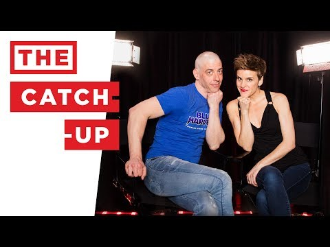 THE CATCH-UP: Christian Borle (CHARLIE AND THE CHOCOLATE FACTORY) & Jenn Colella (COME FROM AWAY)