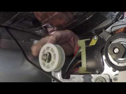 LG Dryer Repair – How to replace the Drum Support Roller