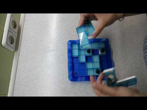 Обзор на настольную игру Пингвины на льду от Smart Games.