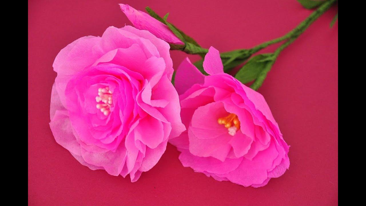 jak zrobi u0107 kwiatek z bibu u0142y