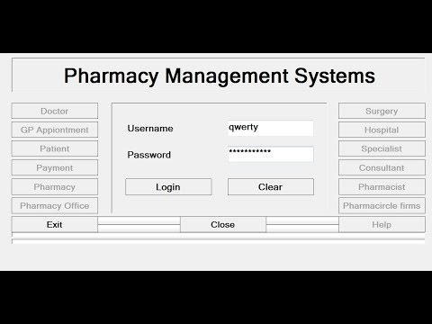 How to Create Pharmacy Management System in C# - Tutorial 1 of 2