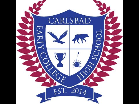 Carlsbad Early College High School's Fall 2020 Awards Assembly