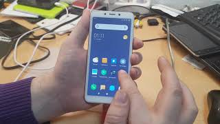 FRP! Xiaomi Redmi 6 Miui 10.2. Сброс аккаунт гугл без установки приложения.