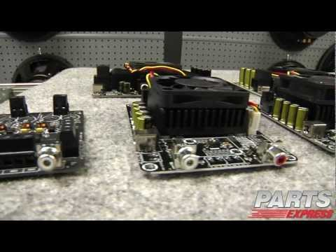 Class D Amplifier boards - YouTube