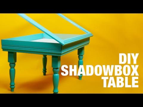 DIY Shadowbox Table