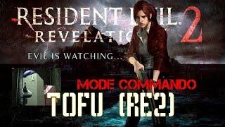 resident evil revelations 2   gameplay   mode commando   tofu re2