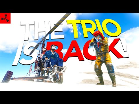 The og trio is back & we took over the server! (trio vanilla rust) mp3