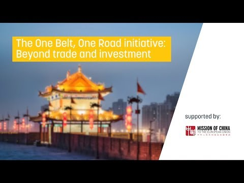 One Belt, One Road initiative: Beyond trade and investment