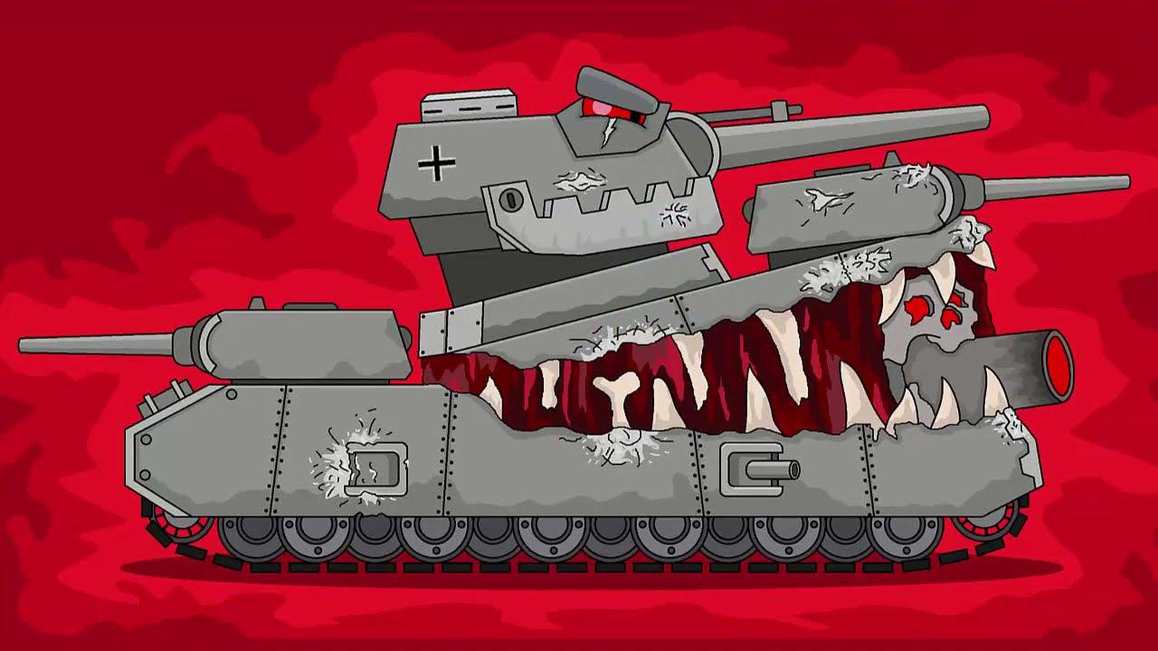 Как Нарисовать Танк ПАРАЗИТ - Мультики про танки