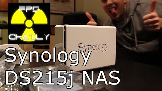 My New NAS: Synology DS215j