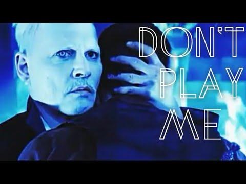 Gellert Grindelwald - Don't Play (music Video)🖤 \\ Геллерт Гриндевальд клип
