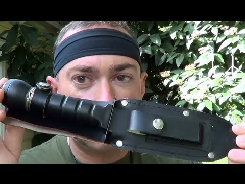 Awesome review of the 80's Hollow Handled Survival Knife!!