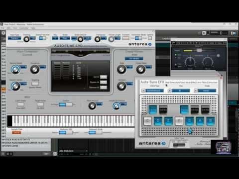 Maschine 1.7 Drake T-Pain Kanye Lil Wayne AutoTune Setup Using EVO & FX