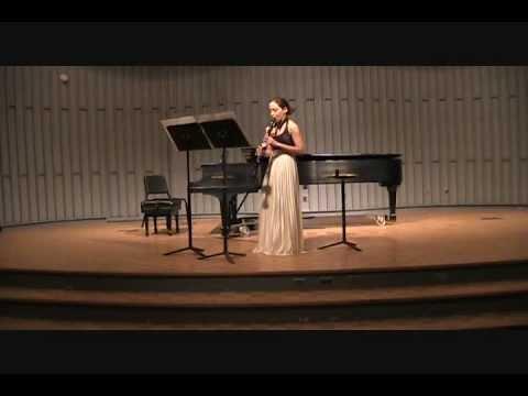 """lizramirezclarinet-""""Monologue No. 3, I. Andante Sostenuto"""" Erland Von Koch"""