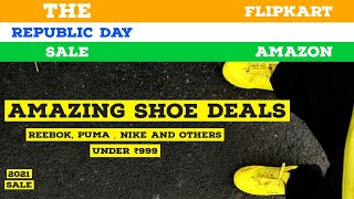 Top shoe deals on Amazon Republic day sale! | Running and casual shoes under 1000/- 😱🔥!