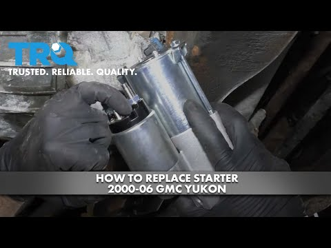 How to Replace Starter 2000-06 GMC Yukon