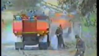 26 sierpień 1992 Pożar lasu Kuźnia Raciborska