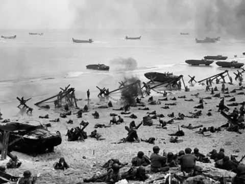 WW2 Veteran Jim Pagnini-Omaha Beach Story