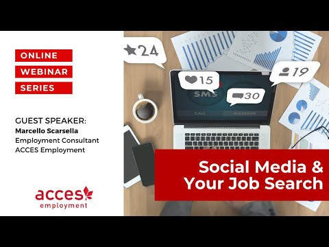 Social Media & Your Job Search