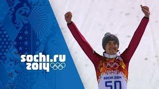 Men's Ski Jumping - Normal Hill Final -  Stoch Wins Gold | Sochi 2014 Winter Olympics