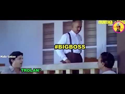 Big Boss Malayalam Season 2   Troll Video