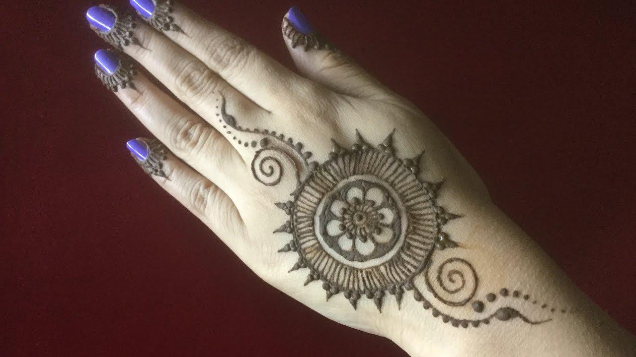 New Stylish Simple Easy Mandala Mehandhi Henna Designs For Beginners