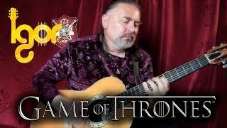 Gаmе of Тhrones Мain Тheme - acoustic fingerstyle guitar