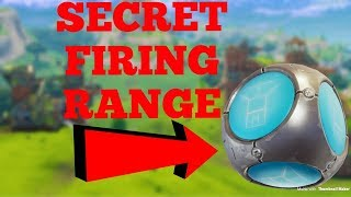 NEW Aim Practice In Fortnite With Secret Portafort minigames! Fortnite Battle Royale