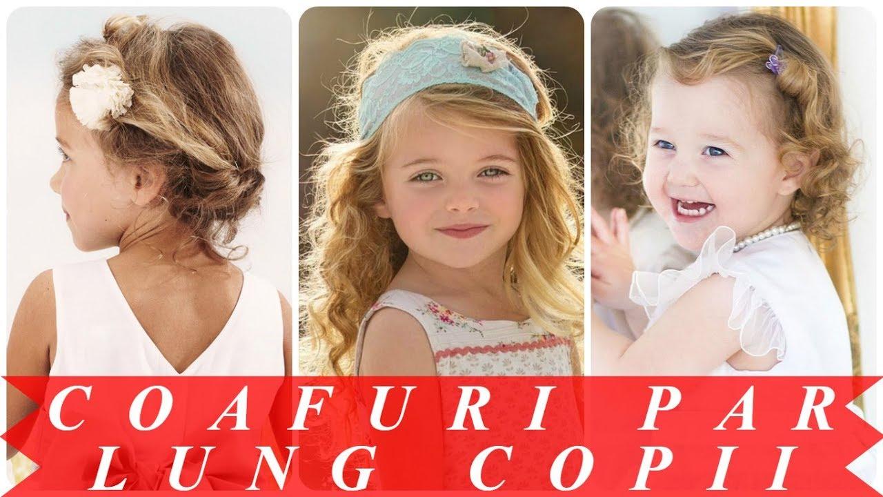 Moderne Modele De Coafuri Pentru Copii Fete Youtube
