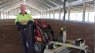Dingo All-Rounder Mini Digger & Level Best Laser Blade - All Site Dingo Hire