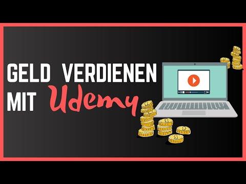 GELD VERDIENEN MIT UDEMY - Nebeneinkommen mit Videokursen als Anfänger