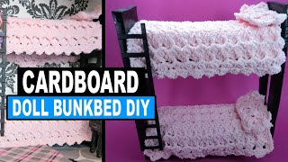 Doll Crafts | How To Make A Monster High Doll Bunk Bed