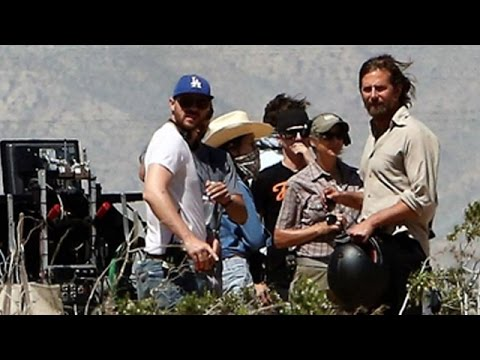 """Bradley Cooper And Lady Gaga Shooting """"A Star Is Born"""""""