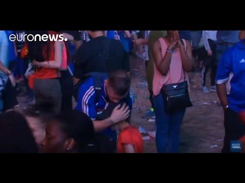 euro 2016 un enfant portugais console un supporter fran ais youtube. Black Bedroom Furniture Sets. Home Design Ideas