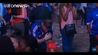 Euro 2016 : un enfant portugais console un supporter francais