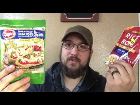 Backpacking food on a budget