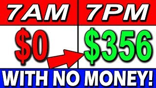 CRAZIEST Way to EARN $350+ in MINUTES Work DAILY (🔥WITH NO MONEY?!!🔥)
