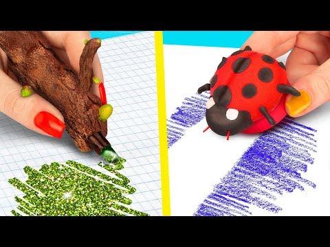 10 Fun DIY Spring School Supplies Ideas and School Hacks