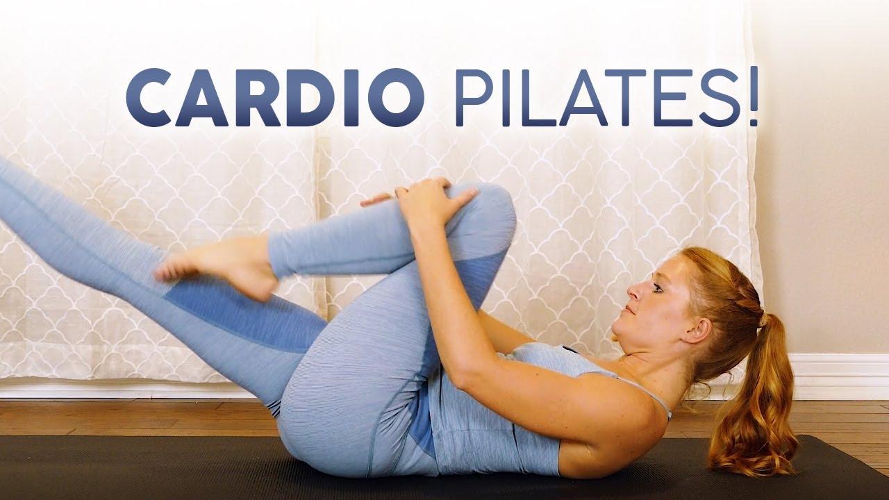 Cardio Pilates 🔥 Fat Burning Sculpt, 20 Min Workout, Intermediate Level, At Home, No Equipment
