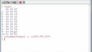 Creating a CSV with R - write.csv()