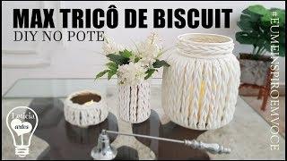Como Fazer Trico Gigante com Biscuit – Decoração