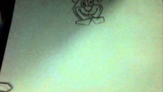 Como Desenhar o Zé Colmeia  /  How to Draw Yogi Bear