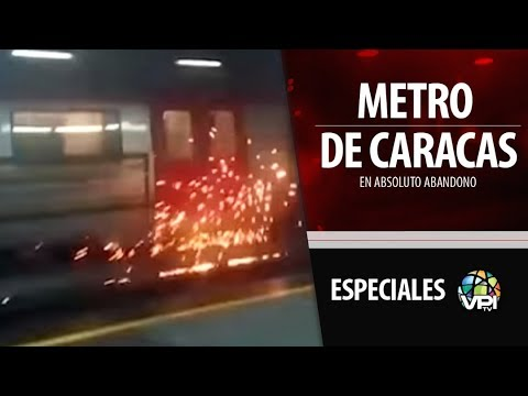 Especial Caracas - Metro de Caracas en decadencias - VPItv